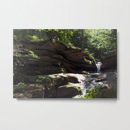 Upper Sabbaday Falls Metal Print