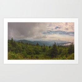 Clingmans Dome - NC Art Print