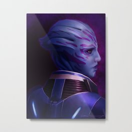 Mass Effect: Tela Vasir Metal Print