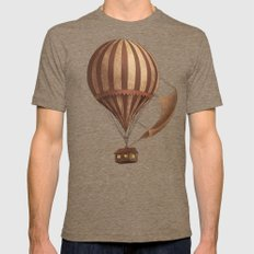 Departure Tri-Coffee Mens Fitted Tee LARGE