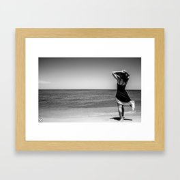 Lyrik's Ocean Framed Art Print