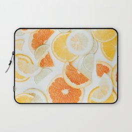 citrus fresh orange twist Laptop Sleeve