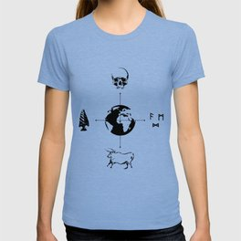 Anthropology: The Four Subdisciplines (Version 2.0) T-shirt