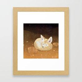 Fennek Framed Art Print
