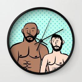 Beard Boy: Thomas & Billy Wall Clock