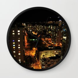 lost in the city. Wall Clock