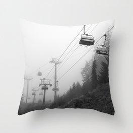 Crossing Throw Pillow