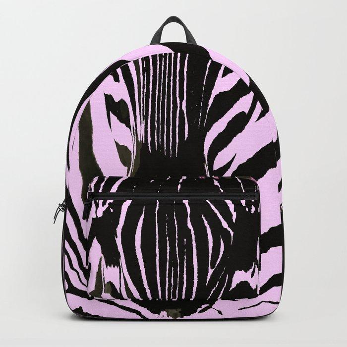 Always together - Two Zebras - illustration - fun - #society6 #buyart Backpack
