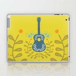 Fancy folk guitar Laptop & iPad Skin