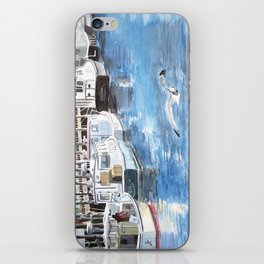 Union Wharf - Portland, Maine iPhone Skin
