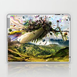 Fleeing Creativity (surreal) Laptop & iPad Skin