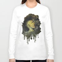 punk rock Long Sleeve T-shirts featuring Punk by Shellie Mix