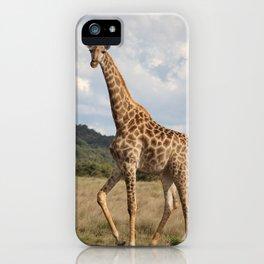 Giraffe_front iPhone Case