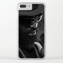 Jazz Man Clear iPhone Case