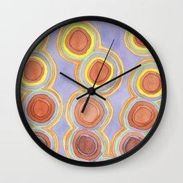 Growing Chains of Circles Wall Clock