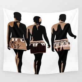 zulu sisters Wall Tapestry