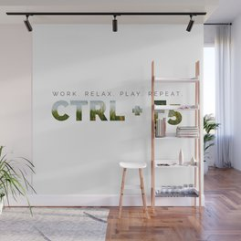 CTRL + F5 Refresh for Geeks Wall Mural