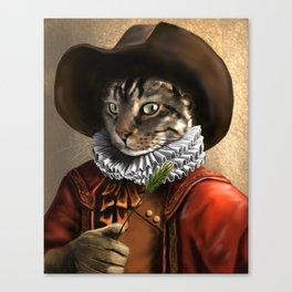 Sancho the Cat Canvas Print