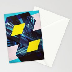Industrial Symmetry Stationery Cards