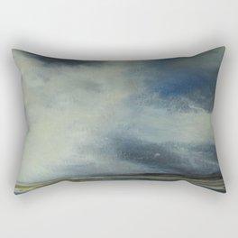 Skyscape,acrylic on canvass, Rectangular Pillow