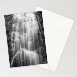 Waterfall in nature of  Costa Rica Stationery Cards