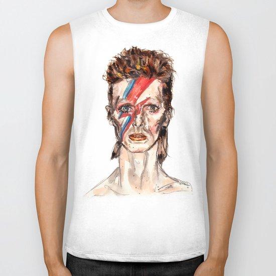 Bowie Inspired David Biker Tank