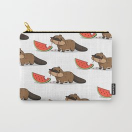 Melon Platypus Carry-All Pouch