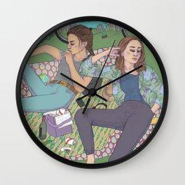 park days Wall Clock