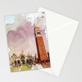 the Piazza Stationery Cards