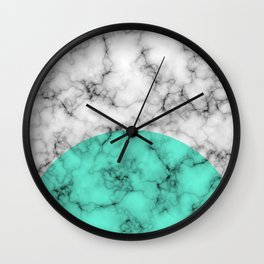 Marble Texture Abstract Wall Clock