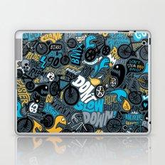 Bikes pattern Laptop & iPad Skin