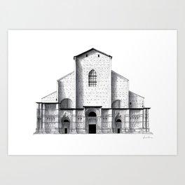 Basilica di San Petronio - Bologna Art Print