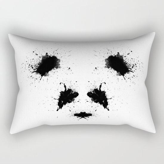 Rorshach Panda Rectangular Pillow