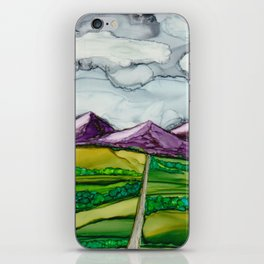 Take Me To The Mountains iPhone Skin