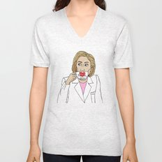 Hillary, By Popular Demand Unisex V-Neck