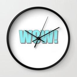 WOW! Wall Clock