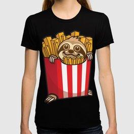 Sloth Fries T-shirt
