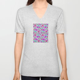 Colorful chaotic storm Unisex V-Neck