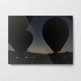 Ballon Fest Metal Print