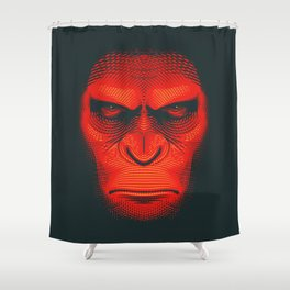 Planet of the Apes | Caesar Shower Curtain