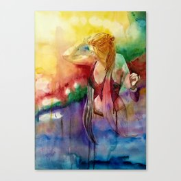 The Journey Gallery:  Dancing With The Universe Canvas Print