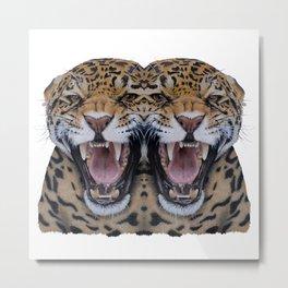 Double Leopard Metal Print