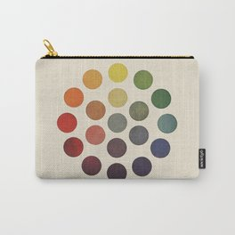 'Parsons' Spectrum Color Chart' 1912, Remake Carry-All Pouch