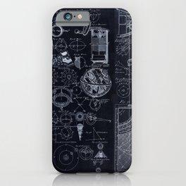 Astronomy Blueprint Diagrams iPhone Case