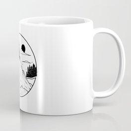 Paysage rond 2 Coffee Mug
