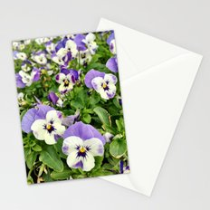 Plenty of Pansies Stationery Cards