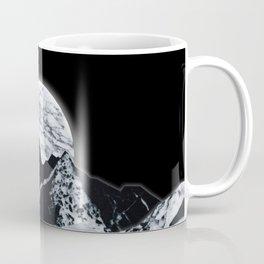 Moon Rock on Moon Coffee Mug