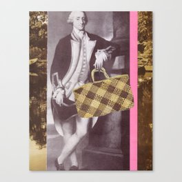 Man with Kete Canvas Print