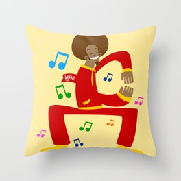 Köpke's Dance Off! Throw Pillow
