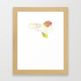 Bee A Bee Framed Art Print